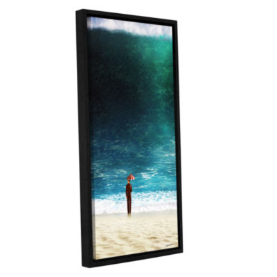 Brushstone Oblivious Gallery Wrapped Floater-Framed Canvas Wall Art