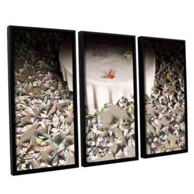Brushstone The Perfectionist 3-pc. Floater FramedCanvas Wall Art