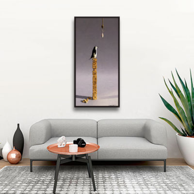 Brushstone Equilibrium 5 Gallery Wrapped Floater-Framed Canvas Wall Art