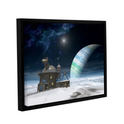 Brushstone Observatory Gallery Wrapped Floater-Framed Canvas Wall Art