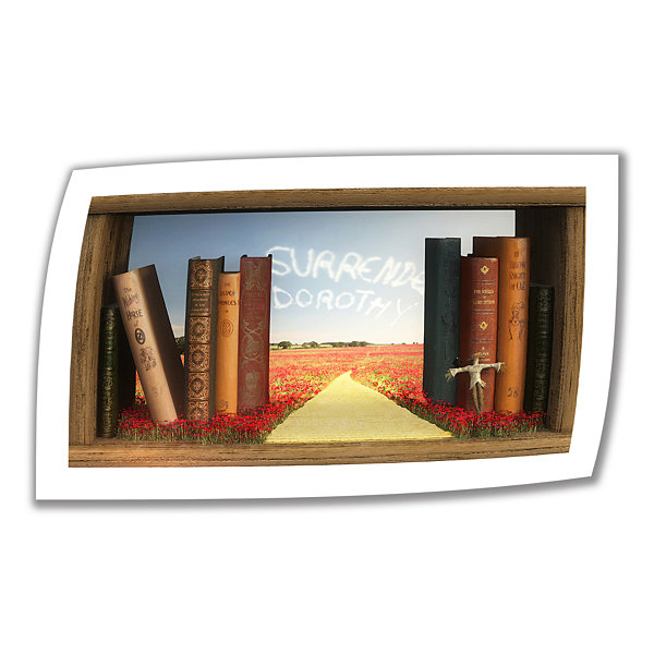 Brushstone The Yellow Brick Road Canvas Wall Art