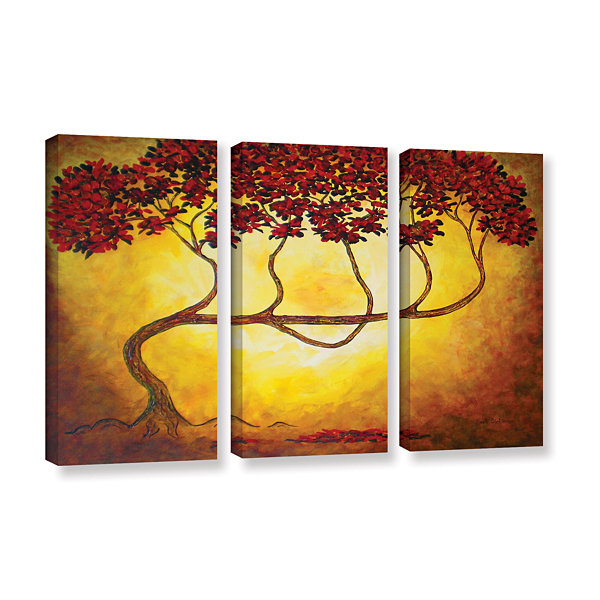Brushstone Ethereal Tree I 3-pc. Gallery Wrapped Canvas Wall Art