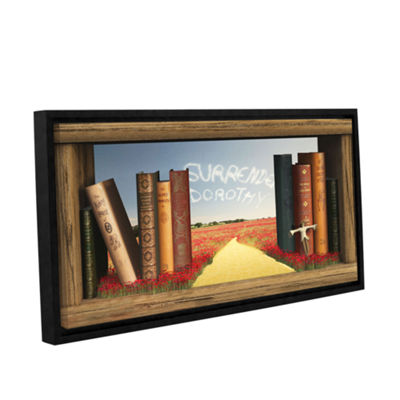 Brushstone The Yellow Brick Road Gallery Wrapped Floater-Framed Canvas Wall Art