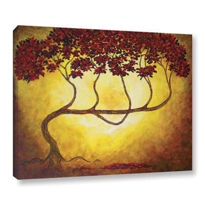 Brushstone Ethereal Tree I Gallery Wrapped CanvasWall Art