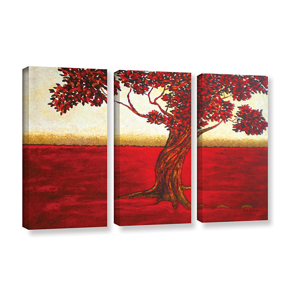 Brushstone Ethereal Tree II 3-pc. Gallery WrappedCanvas Wall Art