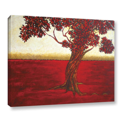 Brushstone Ethereal Tree II Gallery Wrapped CanvasWall Art