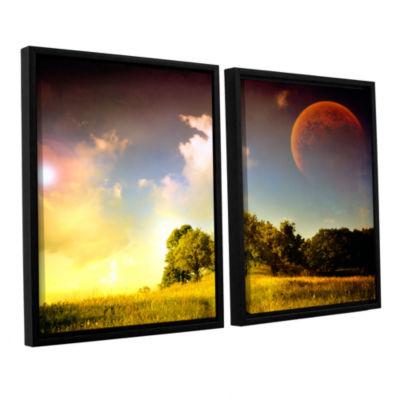 Brushstone Everlasting Season 2-pc. Floater FramedCanvas Wall Art