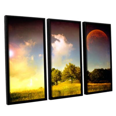 Brushstone Everlasting Season 3-pc. Floater FramedCanvas Wall Art