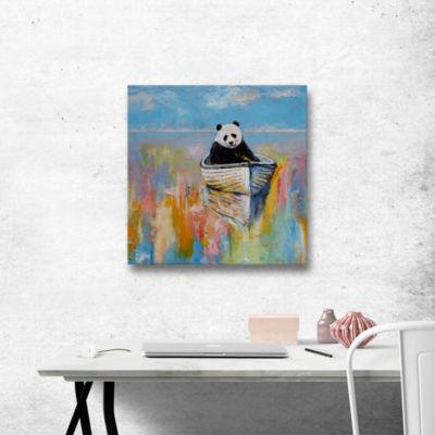 Brushstone Panda Gallery Wrapped Canvas Wall Art
