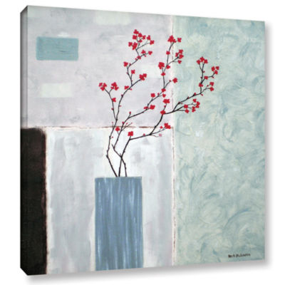 Brushstone Tranquil Gallery Wrapped Canvas Wall Art