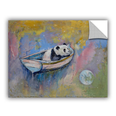 Brushstone Panda Moon Removable Wall Decal