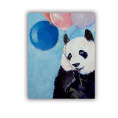 Brushstone Panda Party Removable Wall Decal