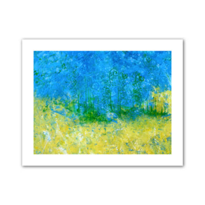 Brushstone Tropical Waters Canvas Wall Art