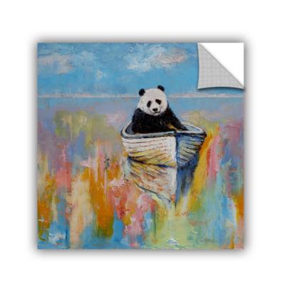 Brushstone Panda Removable Wall Decal
