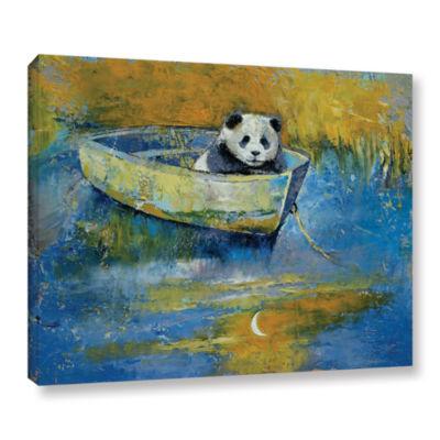 Brushstone Panda Sailor Gallery Wrapped Canvas Wall Art
