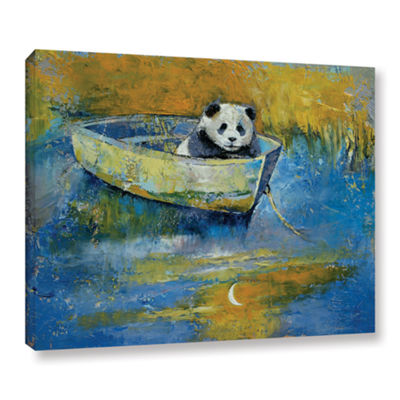 Brushstone Panda Sailor Gallery Wrapped Canvas Wall Art