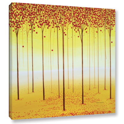 Brushstone Fairy Forest Gallery Wrapped Canvas Wall Art