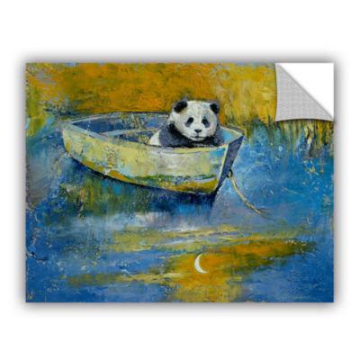 Brushstone Panda Sailor Removable Wall Decal