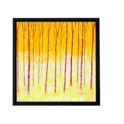 Brushstone Fairy Forest Gallery Wrapped Floater-Framed Canvas Wall Art
