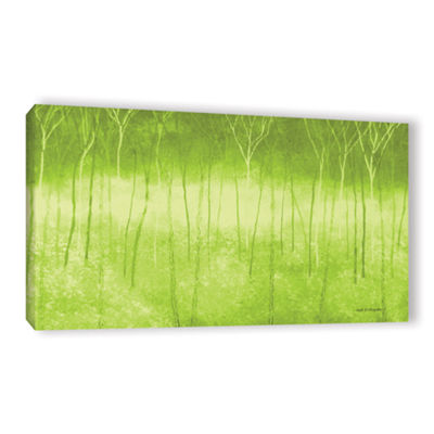 Brushstone Verda Forest 2 Gallery Wrapped Canvas Wall Art
