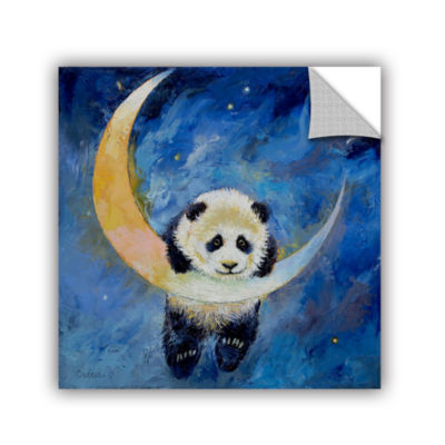 Brushstone Panda Stars Removable Wall Decal
