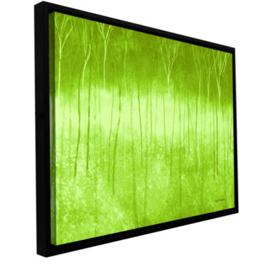 Brushstone Verda Forest 2 Gallery Wrapped Floater-Framed Canvas Wall Art