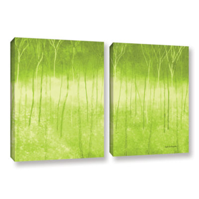 Brushstone Verda Forest 2-pc. Gallery Wrapped Canvas Wall Art
