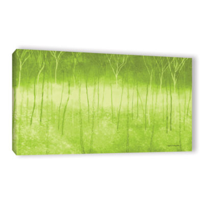 Brushstone Verda Forest Gallery Wrapped Canvas Wall Art