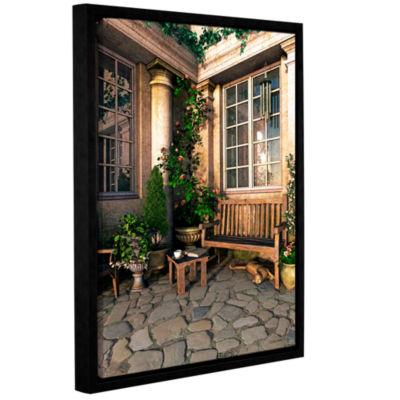 Brushstone Romance Novel Gallery Wrapped Floater-Framed Canvas Wall Art