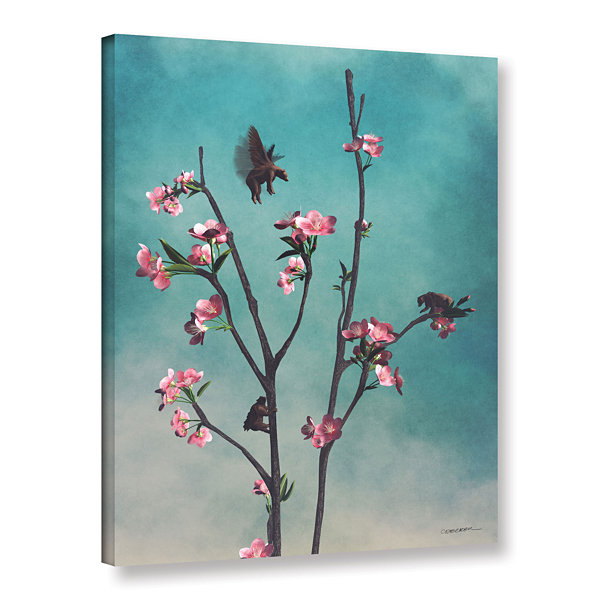 Brushstone Hummingbirds Gallery Wrapped Canvas Wall Art