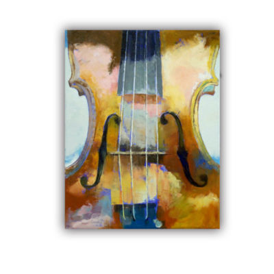 Brushstone Violin Removable Wall Decal