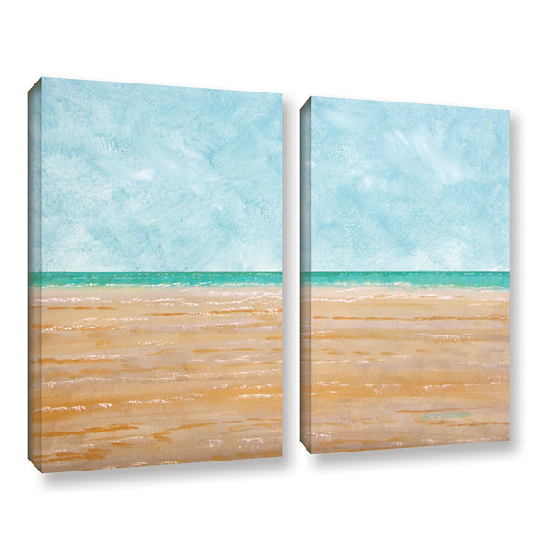 Brushstone Forth Walton Beach 2-pc. Gallery Wrapped Canvas Wall Art