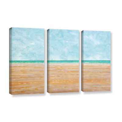 Brushstone Forth Walton Beach 3-pc. Gallery Wrapped Canvas Wall Art