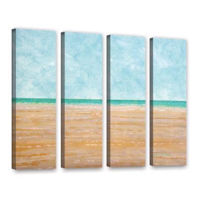 Brushstone Forth Walton Beach 4-pc. Gallery Wrapped Canvas Wall Art