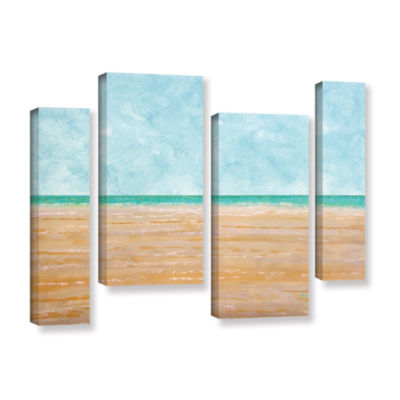Brushstone Forth Walton Beach 4-pc. Gallery Wrapped Staggered Canvas Wall Art