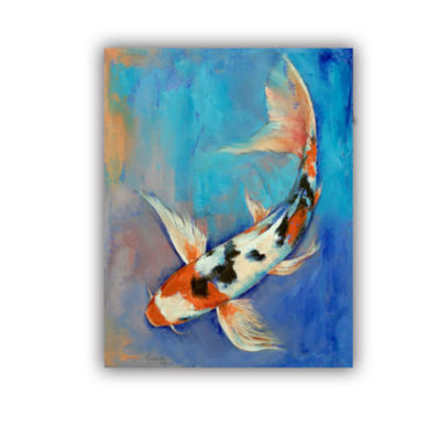 Brushstone Sanke Butterfly Koi Removable Wall Decal