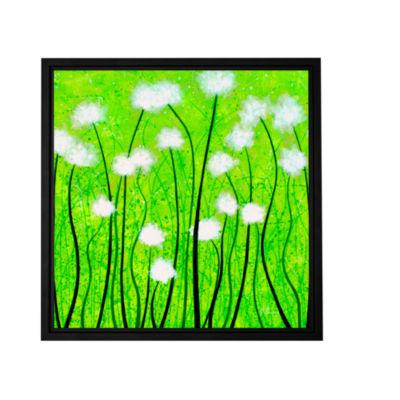 Brushstone Fuzzy Feeling Gallery Wrapped Floater-Framed Canvas Wall Art