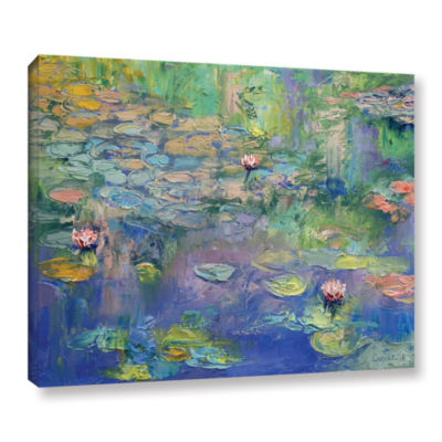 Brushstone Water Gallery Wrapped Canvas Wall Art