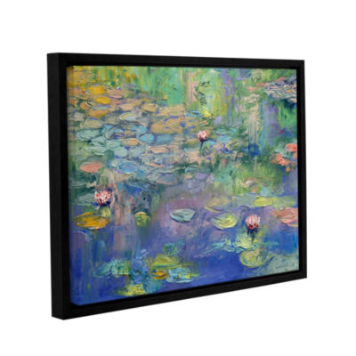 Brushstone Water Gallery Wrapped Floater-Framed Canvas Wall Art