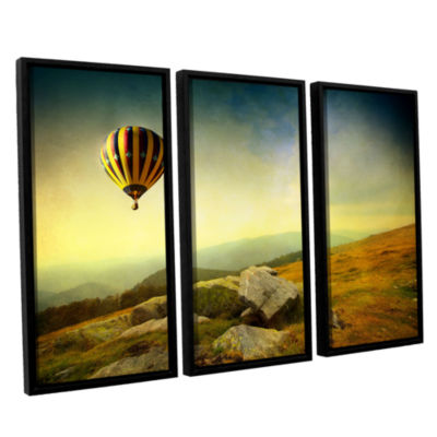 Brushstone Keys to Imagination III 3-pc. Floater Framed Canvas Wall Art
