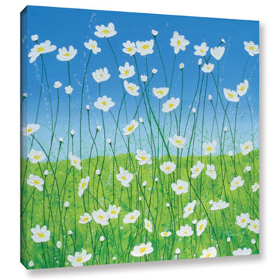 Brushstone Jesses Daises Gallery Wrapped Canvas Wall Art