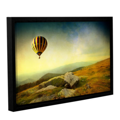 Brushstone Keys to Imagination III Gallery WrappedFloater-Framed Canvas Wall Art