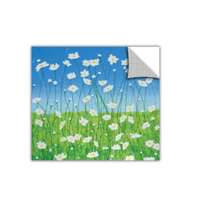 Brushstone Jesses Daises Removable Wall Decal