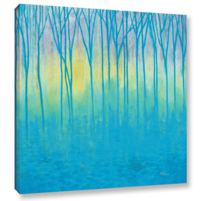 Brushstone Lagoons Edge Gallery Wrapped Canvas Wall Art
