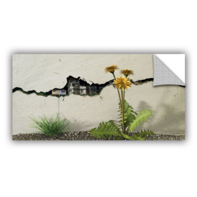 Brushstone Between the Cracks Removable Wall Decal