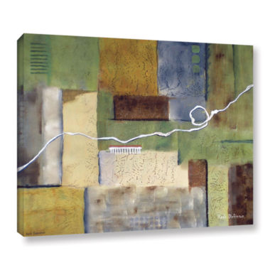 Brushstone Weaving Gallery Wrapped Canvas Wall Art