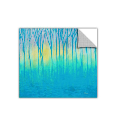 Brushstone Lagoons Edge Removable Wall Decal