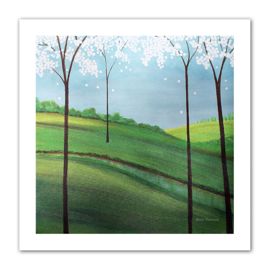 Brushstone Whimsy Spring Canvas Wall Art