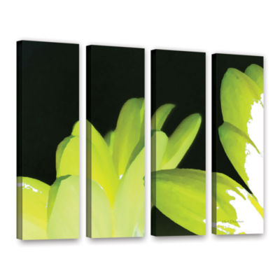 Brushstone Gerber Time I 4-pc. Gallery Wrapped Canvas Wall Art