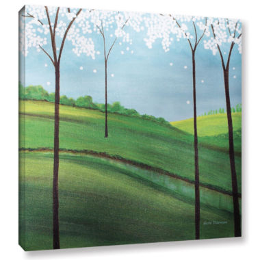 Brushstone Whimsy Spring Gallery Wrapped Canvas Wall Art